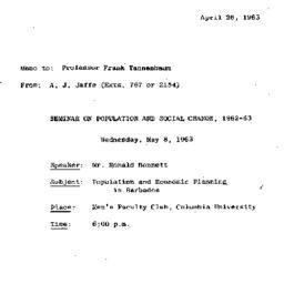 Correspondence, 1963-04-26....