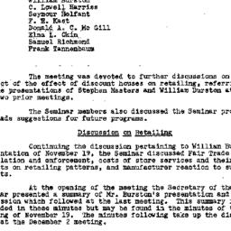 Minutes, 1957-12-02. Econom...