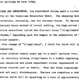 Speaker's paper, 1963-05-16...