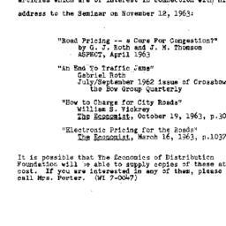 Speaker's paper, 1963-11-12...
