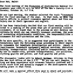 Correspondence, 1969-10-03....