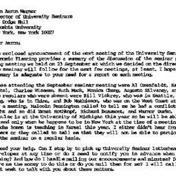 Correspondence, 1986-10-10....