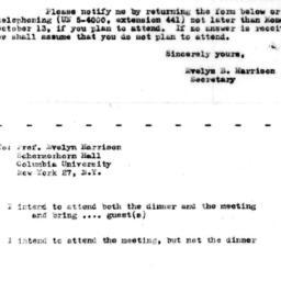 Announcements, 1958-10-23. ...