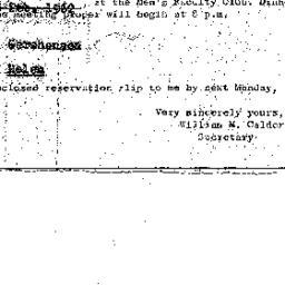 Announcements, 1962-02-15. ...