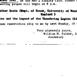 Announcements, 1963-12-19. ...