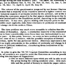 Announcements, 1959-06-11. ...