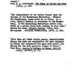 Speaker's paper, 1964-02-19...