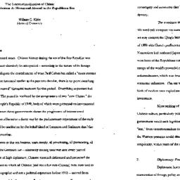 Speaker's paper, 1997-04-10...