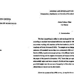 Speaker's paper, 1998-02-12...