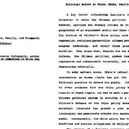 Speaker's paper, 1997-12-11...