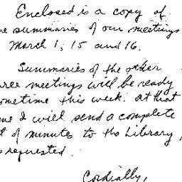 Correspondence, 1962-05-21....
