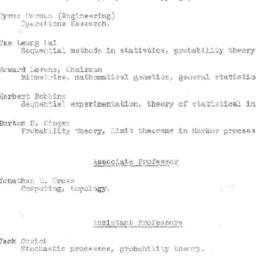 Correspondence, Mathematica...