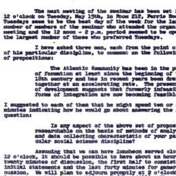 Announcements, 1963-05-07. ...
