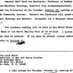 Announcements, 1968-09-25. ...