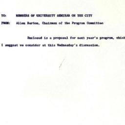 Announcements, 1963-05-17. ...