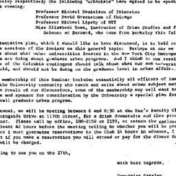 Announcements, 1970-10-14. ...