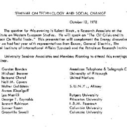 Background paper, 1978-10-1...