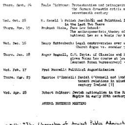 Schedules, 1982-04-23. Law ...