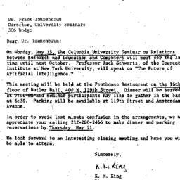 Correspondence, 1967-04-27....