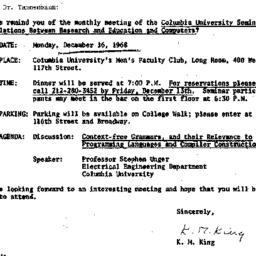 Correspondence, 1968-12-09....