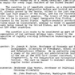 Background paper, 1983-01-2...