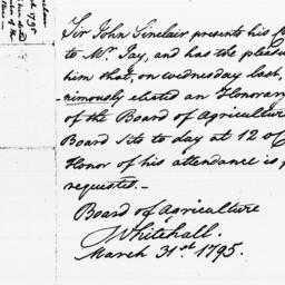 Document, 1795 March 31