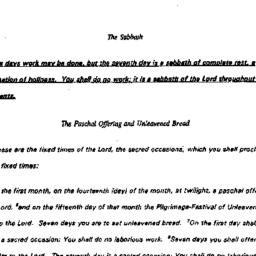 Handouts, 1994-02-23. The S...