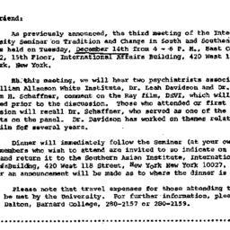 Correspondence, 1971-11-23....