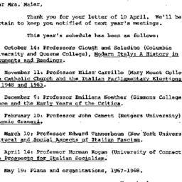 Correspondence, 1967-04-25....