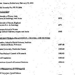 Background paper, Studies i...