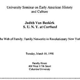 Announcements, 1998-03-10. ...