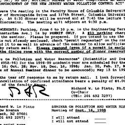 Announcements, 1999-08-26. ...