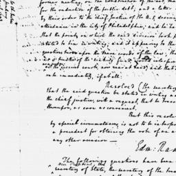 Document, 1792 March 29