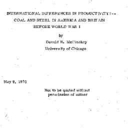Speaker's notes, 1970-05-09...