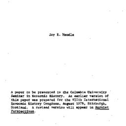 Background paper, 1978-11-0...