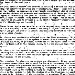 Minutes, 1971-04-30. Death,...
