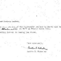 Announcements, 1975-12-11. ...