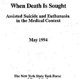 Handouts, 1996-10-09. Death...