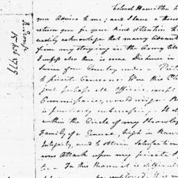 Document, 1779 February 15