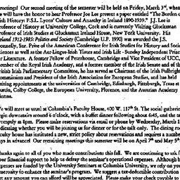 Announcements, 2000-02-24. ...