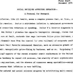 Speaker's notes, 1974-12-09...
