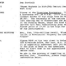 Announcements, 1979-01-25. ...