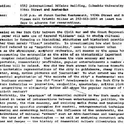 Announcements, 1989-01-24. ...