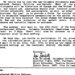 Announcements, 1993-08-05. ...