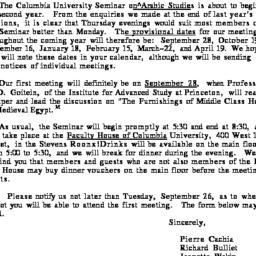 Announcements, 1978-09-01. ...