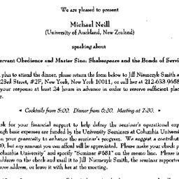 Announcements, 1998-03-13. ...