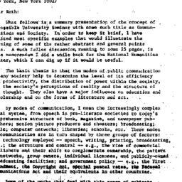 Correspondence, 1984-07-20....