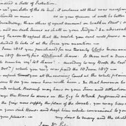 Document, 1818 May 20