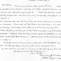 Document, 1822 June 18