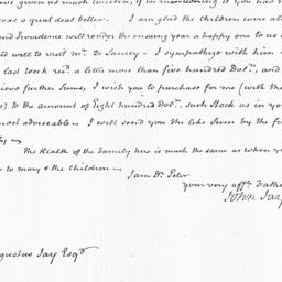 Document, 1823 January 07
